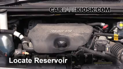 2005 Buick Terraza CX 3.5L V6 Liquide essuie-glace