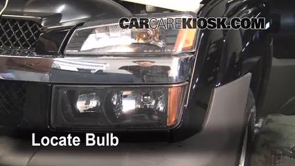 2005 Chevrolet Avalanche 1500 LS 5.3L V8 FlexFuel Luces Luz de carretera (reemplazar foco)