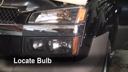 2005 Chevrolet Avalanche 1500 LS 5.3L V8 FlexFuel Éclairage Feux de stationnement