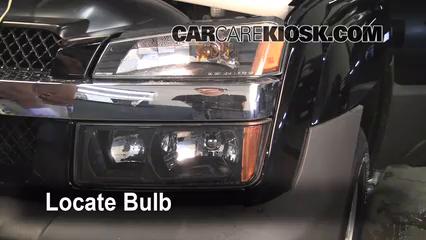 2005 Chevrolet Avalanche 1500 LS 5.3L V8 FlexFuel Éclairage Feu clignotant avant (remplacer l'ampoule)