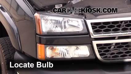 2005 Chevrolet Silverado 2500 HD 6.6L V8 Turbo Diesel Extended Cab Pickup (4 Door) Éclairage Feu de jour (remplacer l'ampoule)