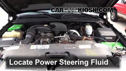 2005 Chevrolet Silverado 2500 HD 6.6L V8 Turbo Diesel Extended Cab Pickup (4 Door) Liquide de direction assistée Rajouter des liquides