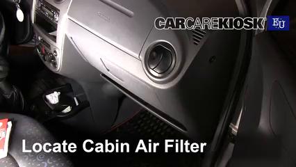 2005 Chevrolet Spark LS 0.8L 3 Cyl. Filtro de aire (interior)