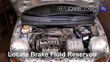 2005 Chevrolet Spark LS 0.8L 3 Cyl. Brake Fluid