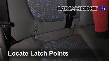 2005 Chevrolet Spark LS 0.8L 3 Cyl. Sièges de Voiture