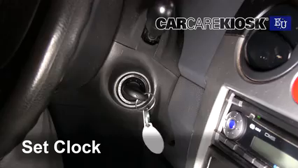 2005 Chevrolet Spark LS 0.8L 3 Cyl. Clock