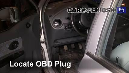2005 Chevrolet Spark LS 0.8L 3 Cyl. Lumière « Check engine » du moteur