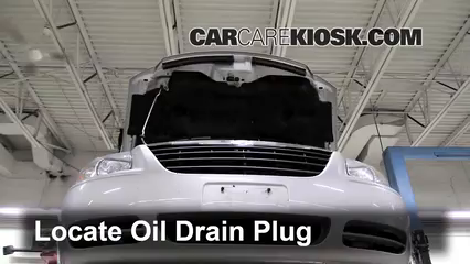 2005 Chrysler Town and Country Touring 3.8L V6 Oil Change Oil and Oil Filter