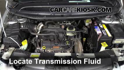 2005 Chrysler Town and Country Touring 3.8L V6 Líquido de transmisión