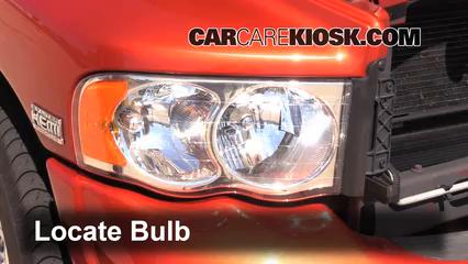 2005 Dodge Ram 1500 SLT 5.7L V8 Standard Cab Pickup (2 Door) Lights Parking Light (replace bulb)