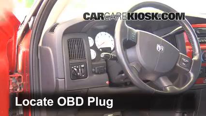 2005 Dodge Ram 1500 SLT 5.7L V8 Standard Cab Pickup (2 Door) Lumière « Check engine » du moteur