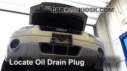 2005 Ford Escape Limited 3.0L V6 Aceite Cambiar aceite y filtro de aceite
