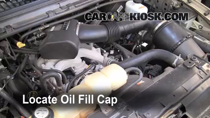 2005 Ford Excursion Limited 6.8L V10 Aceite
