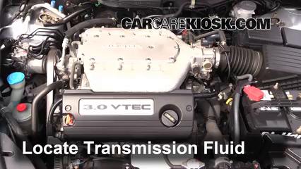 2005 Honda Accord EX 3.0L V6 Sedan (4 Door) Liquide de transmission