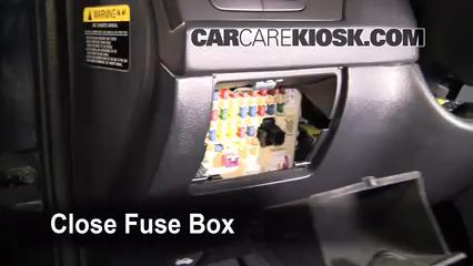 interior fuse box location: 2001-2006 hyundai elantra - 2005 hyundai elantra  gls 2.0l 4 cyl. sedan (4 door)  carcarekiosk