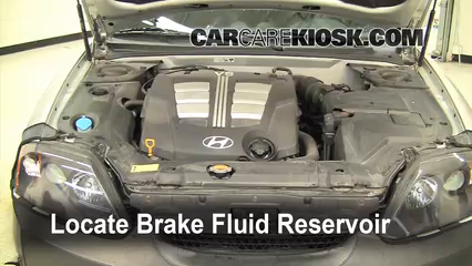 2005 Hyundai Tiburon GT 2.7L V6 Brake Fluid