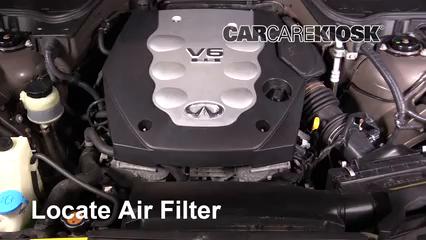 2005 Infiniti FX35 3.5L V6 Air Filter (Engine)