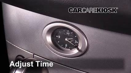 2005 Infiniti FX35 3.5L V6 Clock