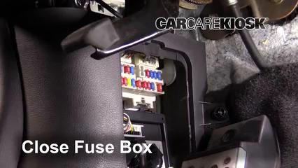 Interior Fuse Box Location: 2003-2008 Infiniti FX35 - 2006 Infiniti FX35  3.5L V6   2005 Infiniti Fx35 Fuse Box      CarCareKiosk