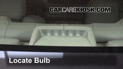 2005 Infiniti G35 3.5L V6 Coupe (2 Door) Luces Luz de freno central (reemplazar foco)
