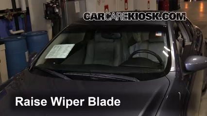 2005 Infiniti G35 3.5L V6 Coupe (2 Door) Windshield Wiper Blade (Front) Replace Wiper Blades