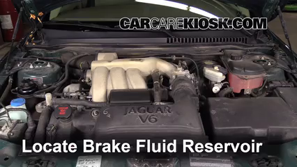 2005 Jaguar X-Type 3.0L V6 Sedan Brake Fluid