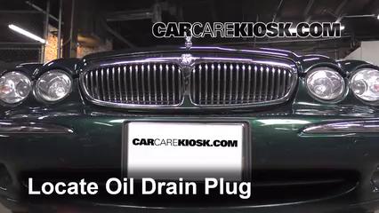 2005 Jaguar X-Type 3.0L V6 Sedan Aceite Cambiar aceite y filtro de aceite