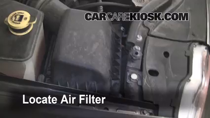 2005 Jeep Grand Cherokee Limited 4.7L V8 Air Filter (Engine)