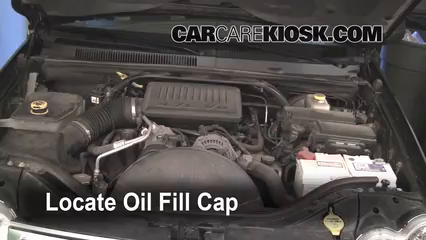 2005 Jeep Grand Cherokee Limited 4.7L V8 Oil