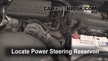 2005 Jeep Grand Cherokee Limited 4.7L V8 Power Steering Fluid