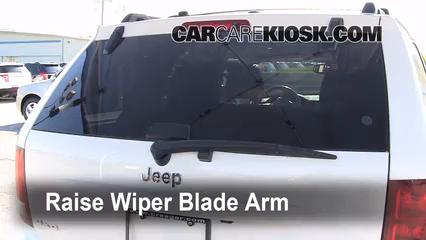 2005 Jeep Grand Cherokee Limited 5.7L V8 Windshield Wiper Blade (Rear)