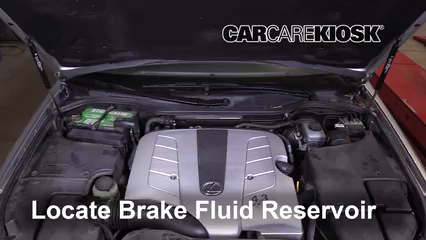 2005 Lexus LS430 4.3L V8 Brake Fluid