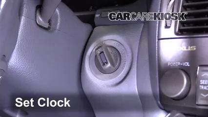 2005 Lexus LS430 4.3L V8 Clock