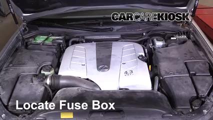 2005 Lexus LS430 4.3L V8 Fuse (Engine)