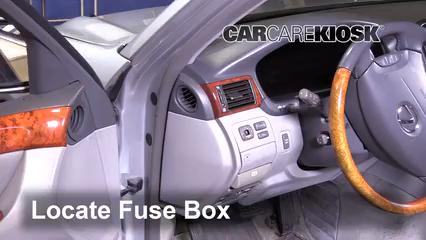 2005 Lexus LS430 4.3L V8 Fuse (Interior)