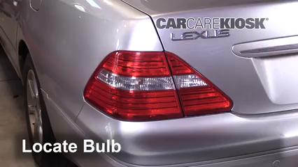 2005 Lexus LS430 4.3L V8 Lights