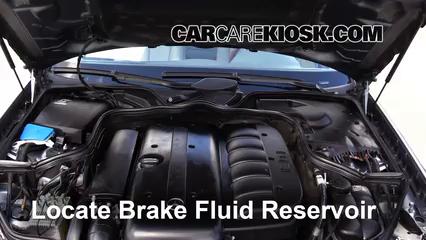 2005 Mercedes-Benz E320 CDI 3.2L 6 Cyl. Turbo Diesel Brake Fluid