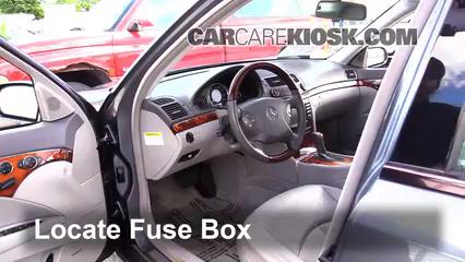 2005 Mercedes-Benz E320 CDI 3.2L 6 Cyl. Turbo Diesel Fuse (Interior)