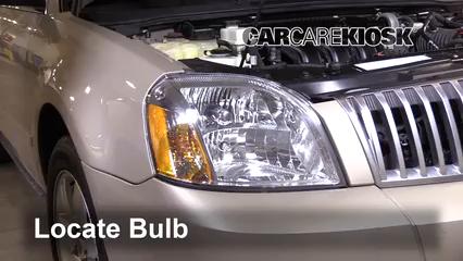 2005 Mercury Montego Premier 3.0L V6 Luces Luz de estacionamiento (reemplazar foco)