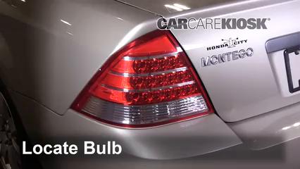 2005 Mercury Montego Premier 3.0L V6 Luces Luz de reversa (reemplazar foco)