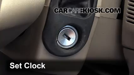 2005 Mercury Mountaineer Premier 4.6L V8 Clock