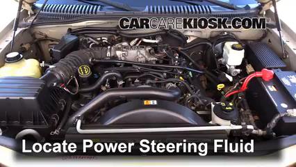 2005 Mercury Mountaineer Premier 4.6L V8 Power Steering Fluid