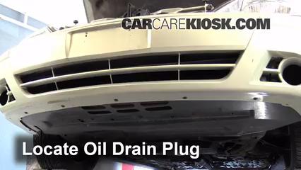 2005 Mercury Sable GS 3.0L V6 Sedan Aceite Cambiar aceite y filtro de aceite