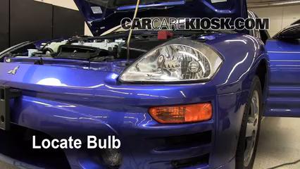 2005 Mitsubishi Eclipse Spyder GS 2.4L 4 Cyl. Lights Daytime Running Light (replace bulb)