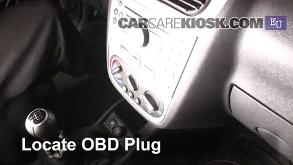 2005 Opel Combo C CNG 1.6L 4 Cyl. Compruebe la luz del motor