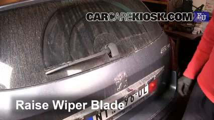 2005 Peugeot 407 SW 2.0L 4 Cyl. Windshield Wiper Blade (Rear)
