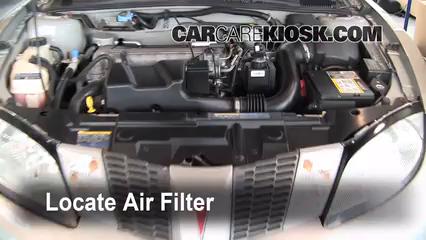 2005 Pontiac Sunfire 2.2L 4 Cyl. Air Filter (Engine)