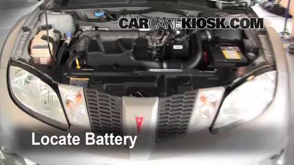 2005 Pontiac Sunfire 2.2L 4 Cyl. Battery