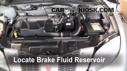 2005 Pontiac Sunfire 2.2L 4 Cyl. Brake Fluid
