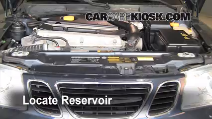 2005 Saab 9-5 Arc 2.3L 4 Cyl. Turbo Sedan Líquido limpiaparabrisas Controlar nivel de líquido